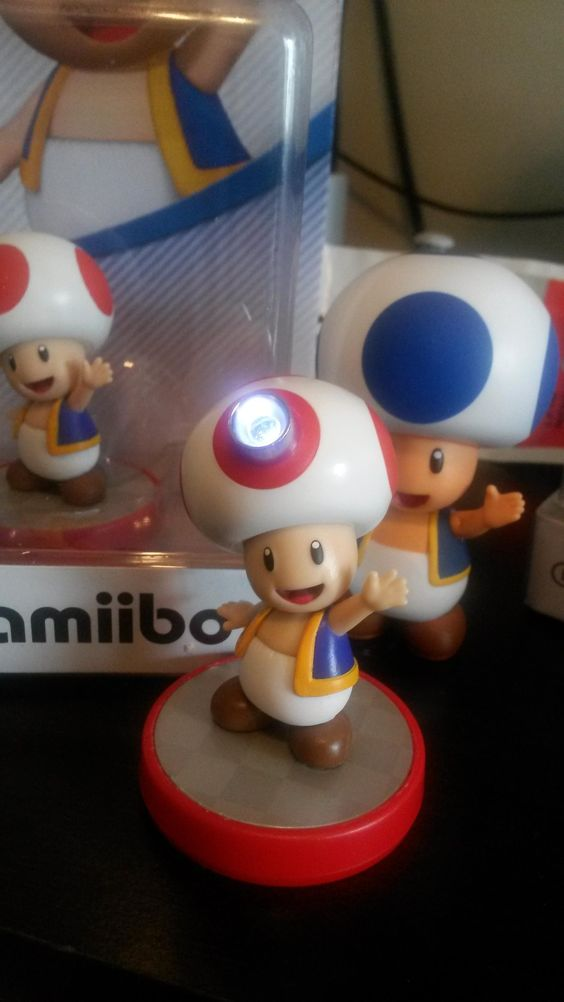Captain Toad Amiibo LED NFC mod By gsusfreak