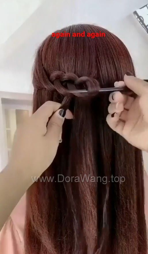 Hairstyles For Long Hair Video Tutorial Part 2 Dorawang Blog In 2020 Long Hair Video Hair Videos Tutorials Long Hair Styles