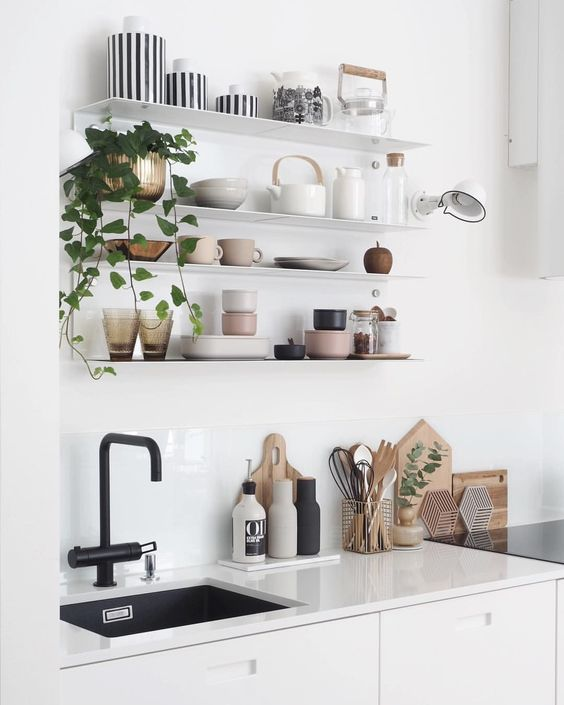 keuken rommelig