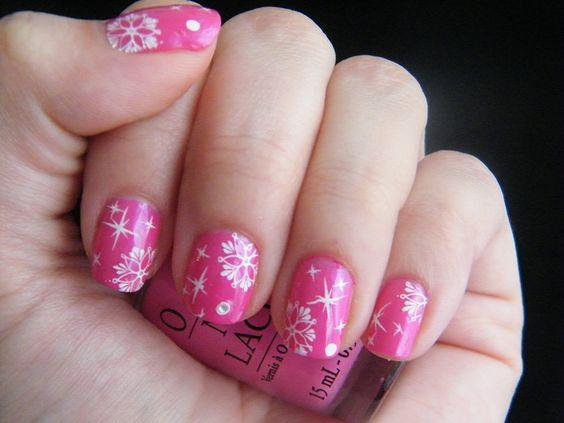 breast cancer nail art | Breast cancer nail art | Flickr - Photo Sharing!