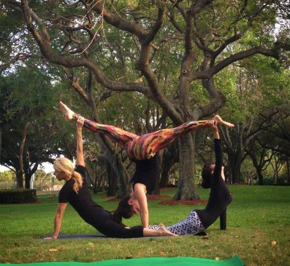 AcroYoga with our Yolegginstyle, get your today: www.yolegginstyle.com