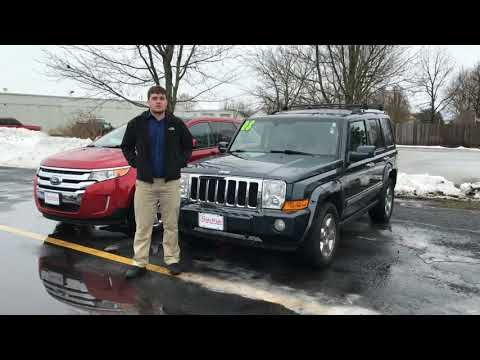 2008 Jeep Commander Overland At Statewide Ford Lincoln In Van Wert