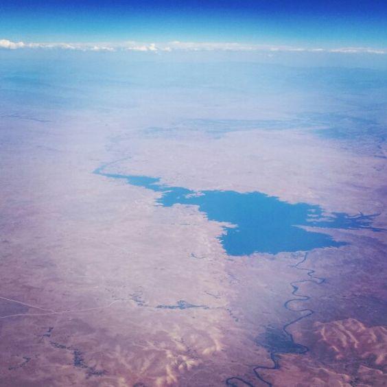 Ouarzazat from the sky