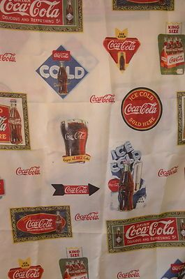 Curtains Ideas coca cola shower curtain : Retired Coca Cola Shower Curtain | I LOVE COCA COLA!!! | Pinterest ...