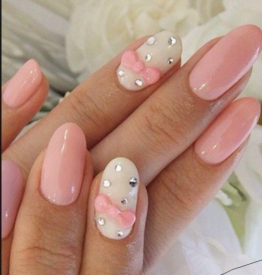 How To Fill Acrylic Nails Diy 6 Easy Quick Steps At Home Bow Nail Designs Bow Nail Art Pink Nail Art