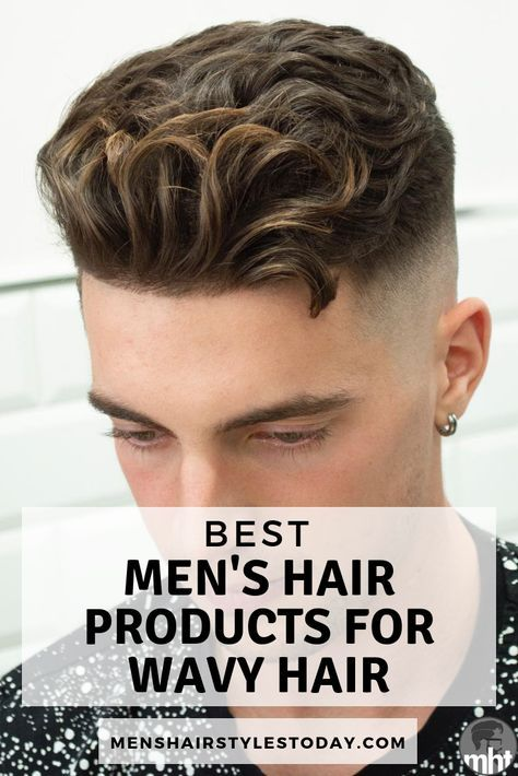 Men S Hair Products By Hair Type Best Hair Styling Products For Guys Short Medium Long Mens Hairstyles Thick Hair Thick Wavy Hair Cool Hairstyles For Men