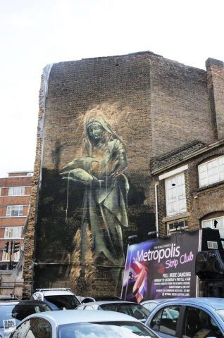 Faith47 in London