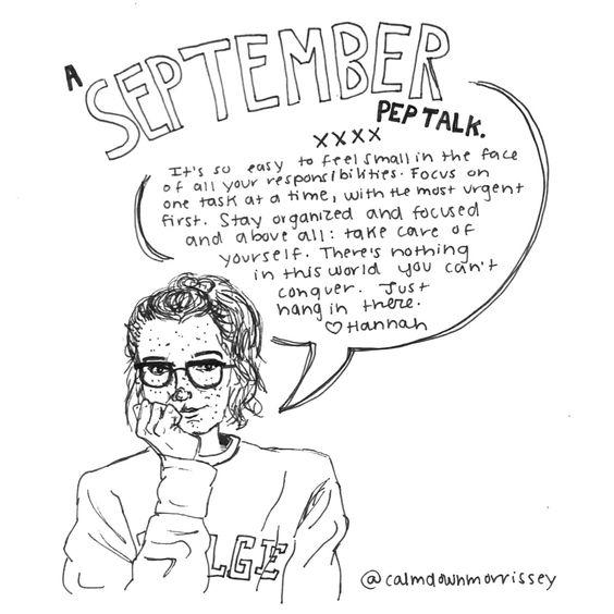 september pep talk