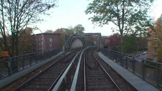 Führerstandsmitfahrt Hochbahn-Hamburg auf der U3