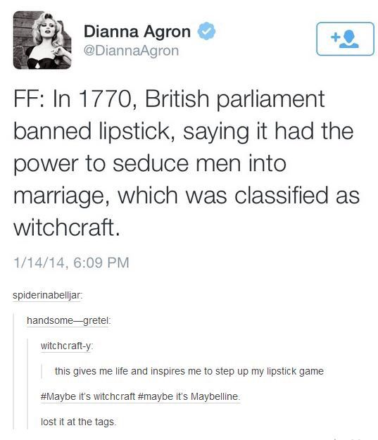 Maybe it's witchcraft!
