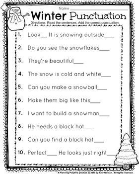 1st grade worksheets math literacy and punctuation on pinterest. Black Bedroom Furniture Sets. Home Design Ideas