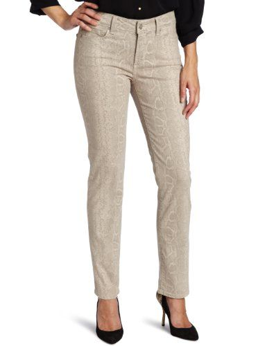 Not Your Daughter's Jeans Women's Sheri Skinny Python Print Jean, Stone, 14 buy at http://www.amazon.com/dp/B007LO16NS/?tag=bh67-20