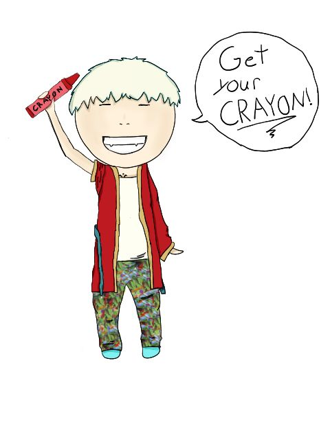 Get Your Crayon! by ~checkers007 on deviantART - G Dragon of Big Bang.