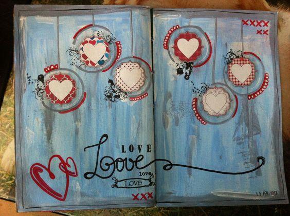 Art journal. Love. (Leticia Guzman)
