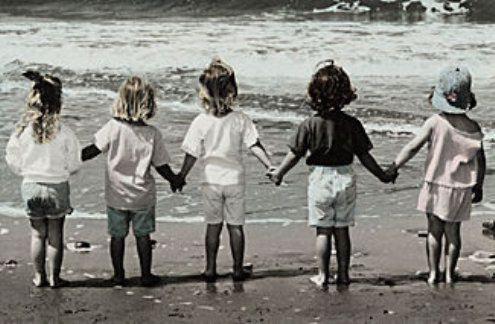 childhood friends...