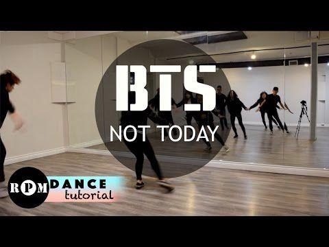 Bts Not Today Dance Tutorial Chorus Ending Youtube Bts Not Today Dance Kpop Dance Lessons