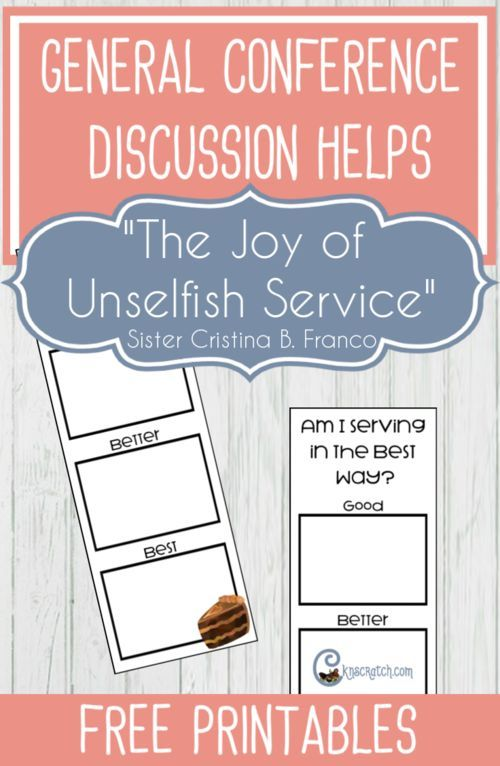 The Joy Of Unselfish Service By Sister Cristina B Franco