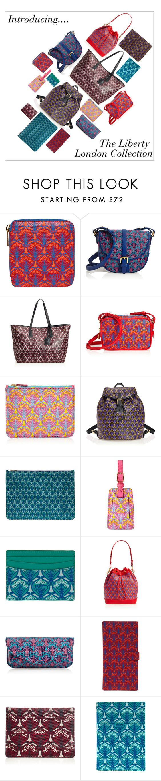 """""""Introducing the Liberty London Collection"""" by liberty-london ❤ liked on Polyvore featuring Liberty, bag and libertyprint"""