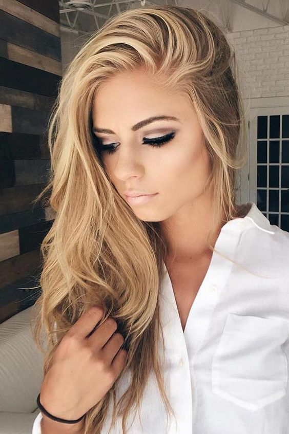 Straight Hairstyles for Long Hair