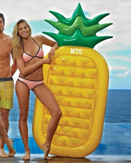 A personal favorite from my Etsy shop https://www.etsy.com/listing/287258615/large-inflatable-pineapple-float-with