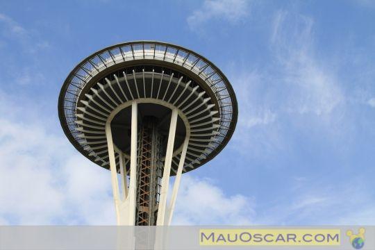 Space Needle: Uma visão 360º de #Seattle