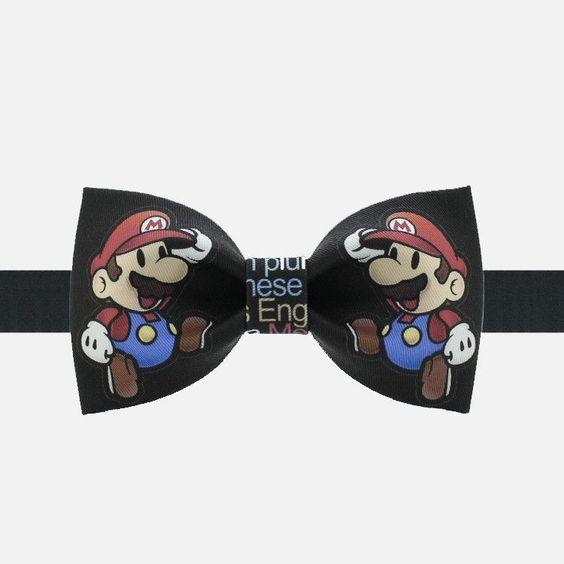 Super Mario Bow Tie
