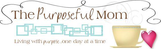 Purposeful mom
