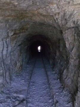 Ptarmigan Tunnel - I can't wait to explore it's dark interior!