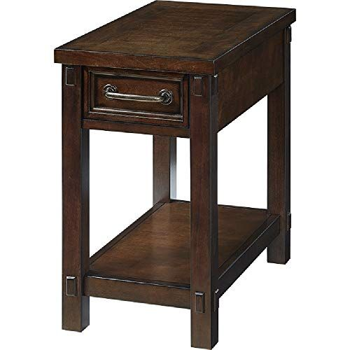 Xiaoyan End Table Rectangular Side Table Sofa Side Cabinet Small