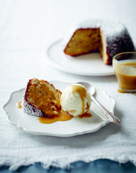 Gilmore's Banana Pudding with Butterscotch Sauce | Banana Pudding ...