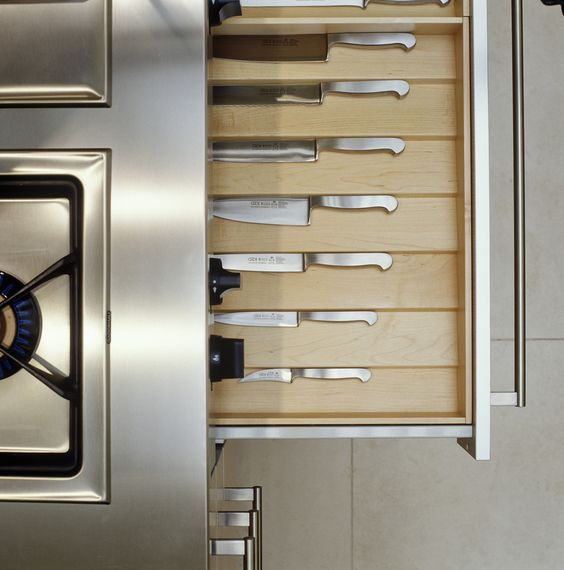 Kitchen Storage | Penthouse for Knives