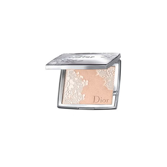 Christian Dior Lace Face Highlighting Powder - Peach Lace No. 002 ($60) ❤ liked on Polyvore