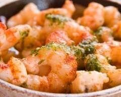 Crevettes sautées à l'ail (facile, rapide) - Une recette CuisineAZ