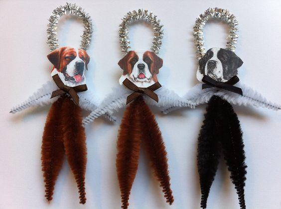 StanleyAndStewart  vintage style chenille ornaments Etsy