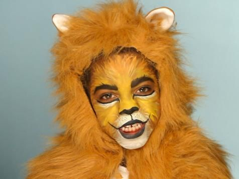 Kid's Halloween Makeup Tutorial: Lion   Easy Crafts and Homemade Decorating & Gift Ideas   HGTV