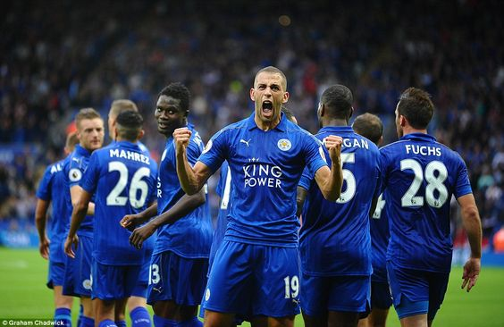 Leicester 3-0 Burnley: Club record signing Islam Slimani bags a brace on his…