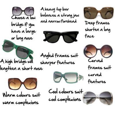 Glasses Frames Low Bridge : Deep frames shorten a long face & low bridge (long nose ...