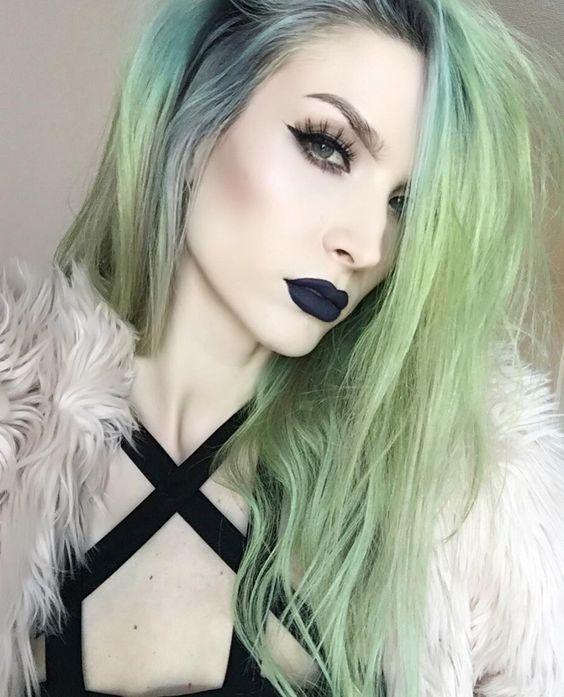 -- -Details- Lips @jeffreestarcosmetics 'Abused' liquid lipstick Brows…