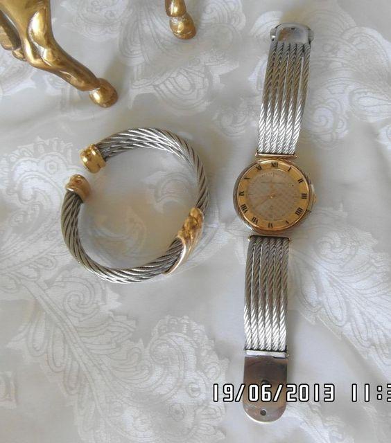 Philippe Charriol Celtic Armbanduhr & Armreif