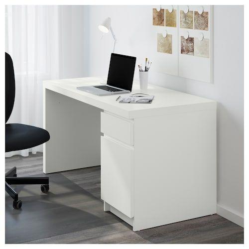 Ikea Schreibtisch Malm Weiß