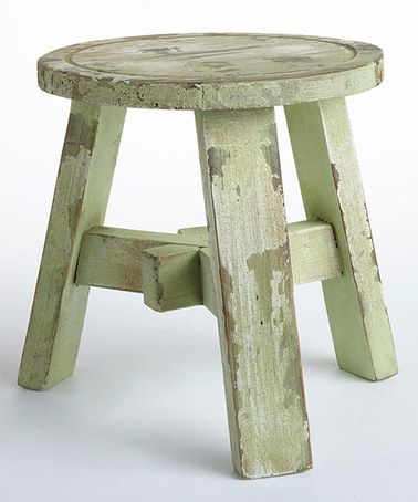 Another great find on #zulily! Distressed Decorative Stool by Napa Home & Garden #zulilyfinds