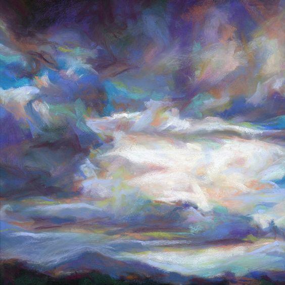 "Susan Roden - ""Turmoil""  Soft Pastel"
