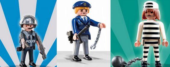 fiesta temática #playmobil tartas e imprimibles gratis policia