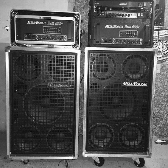 Mesa Boogie Bass Rigs Аппаратура усилители и эффекты