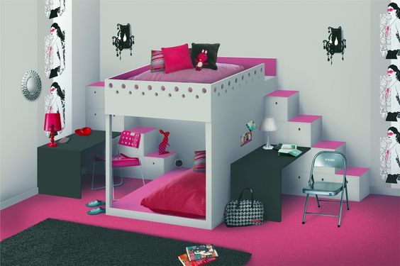 Google amour and fils on pinterest for Separation chambre enfant