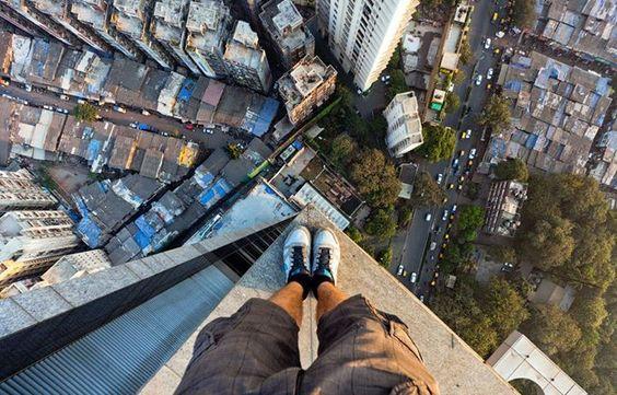 Carte virtuelle 420 pieds au-dessus de Mumbai http://bit.ly/1k0jRv8 #CartePostale #Wallpaper