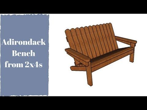 This Step By Step Woodworking Project Is About Wooden Adirondack Chair Made From 2x4s Pl Diy Patio Furniture Fire Pit Table And Chairs Wooden Adirondack Chairs