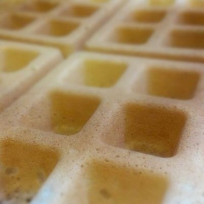 Waffle Perfection.