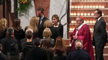 funeral reyes víctimas germanwings