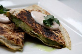 Breakfast quesadillas - but great for dinner or lunch too!